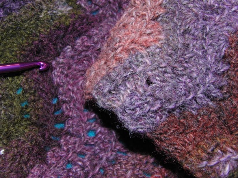 La malagroda bufanda, antes de.